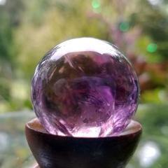 Шар для магических ритуалов из Аметрина