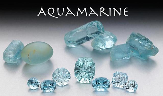 Драгоценный камень Аквамарин