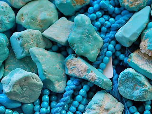 Лазоревый камень Бирюза
