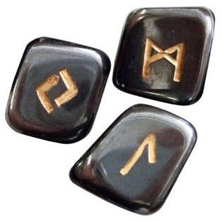 Рунные камни, выполненные из Гематита