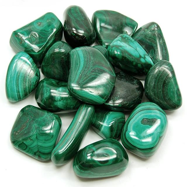 Россыпь камней Малахита