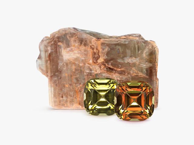Драгоценный камень Султанит