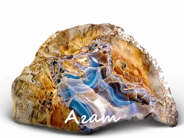 Агат - отличный выбор камня для женщины Близнеца