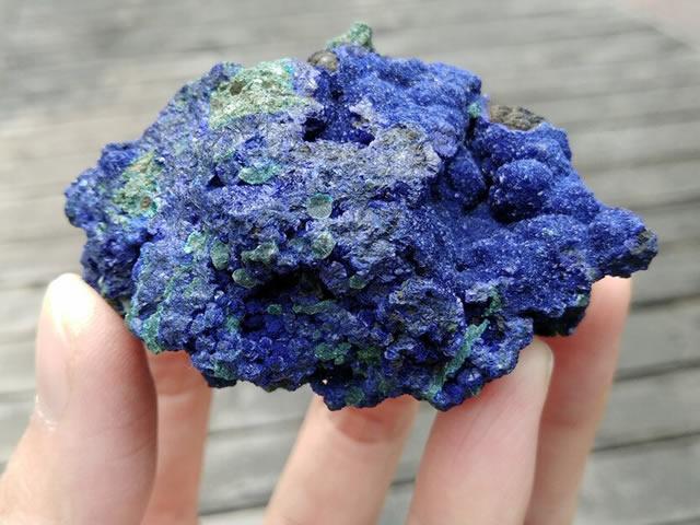 Натуральный голубой Азурит
