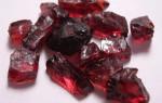 Камень Альмандин: амулет обретения второй половинки