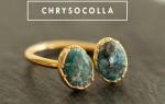 Хризоколла — удивительный камень небесного цвета